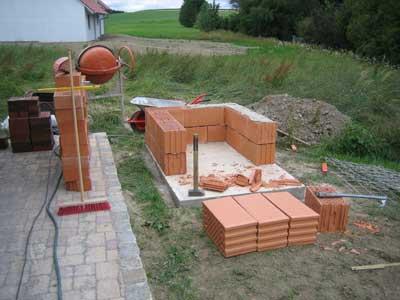 pizzaofen bauanleitung, Garten und Bauen